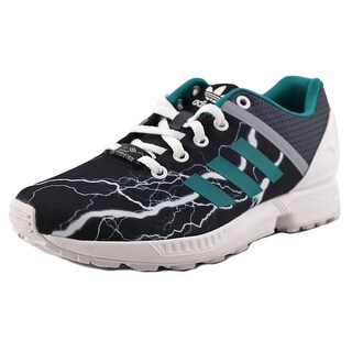 Adidas ZX Flux Split K Youth Synthetic Gray Fashion Sneakers