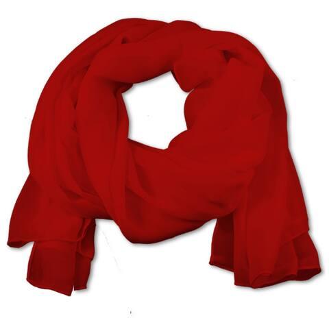 Women's Chiffon Shawl Wrap for Evening Dress Warm Scarf - One Size For All