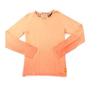 Scotch & Soda NEW Orange Mens Size Large L Ombre Crewneck Sweater