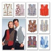 Xlg - Misses'/Men's Lined Vests