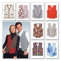 Xxl - Misses'/Men's Lined Vests