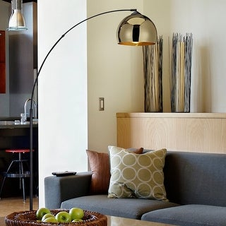 "Link to Archiology Arc Floor Lamp 67"" With Marble Base Similar Items in Floor Lamps"