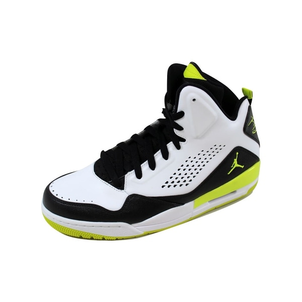b590031a30760 Shop Nike Men s Air Jordan SC-3 White Venom Green-Black 629877-132 ...