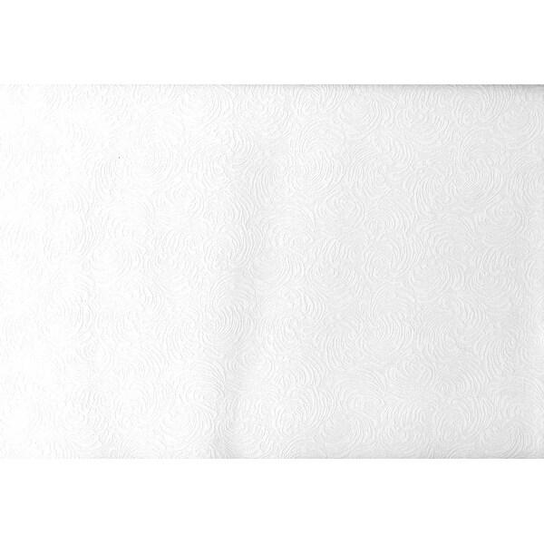 Brewster 2780-59004 Paintable Solutions V 56-3/8 Sq. Ft. - Malkmus Shell Texture - Pre-Pasted Vinyl Wallpaper - - White