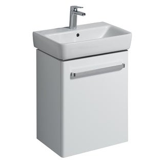 Bissonnet 862055-226155 Comprimo 19-7/10? Free Standing or Wall-Mount Vanity Set with MDF Cabinet and Integrated Single Basin