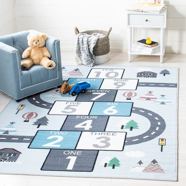 Safavieh Kids Playhouse Arendine Hopscotch Rug. Opens flyout.