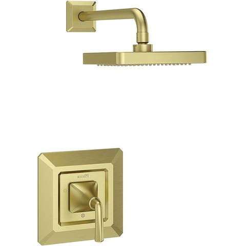 Pfister LG89-7FE Park Avenue Single Handle Shower Trim Package with Single Function Rain Shower Head -