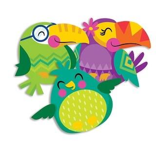 You Can Toucan Bird Paper Cutouts Assorted