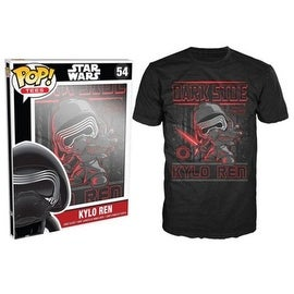 Funko Pop Black Star Wars Episode 7 Kylo Ren Poster T-Shirt