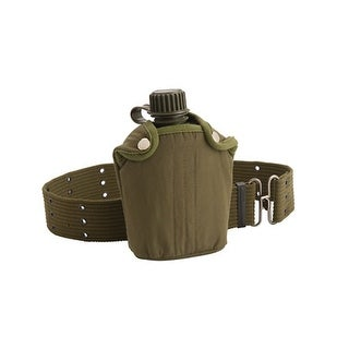 Coleman Canteen With Cover And Belt Green 2000016379
