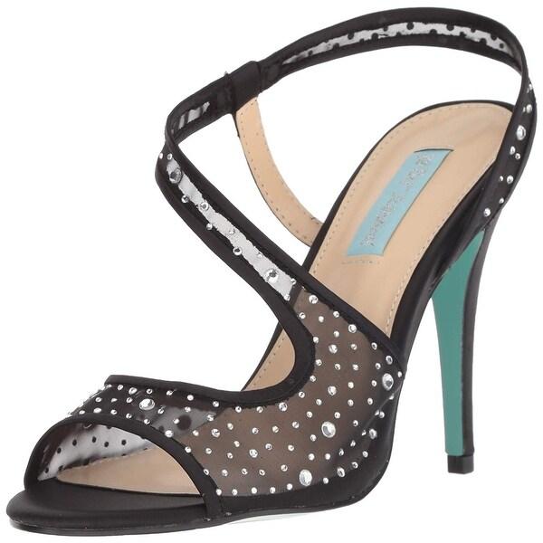 3b72a1c637234 Shop Blue by Betsey Johnson Women's Sb-fey Heeled Sandal - Free ...