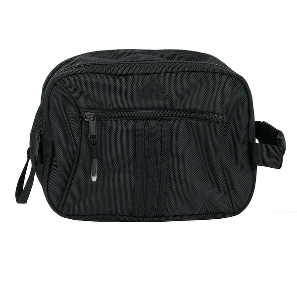 63917f1163 Shop adidas Tourney Toiletry Kit - Black - ONE SIZE - Free Shipping ...