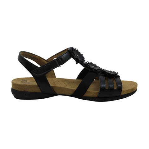 Natural Soul Womens Amore Open Toe Casual Slingback Sandals