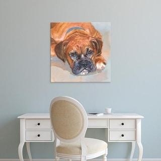 Easy Art Prints Edie Fagan's 'Baillie Boxer' Premium Canvas Art