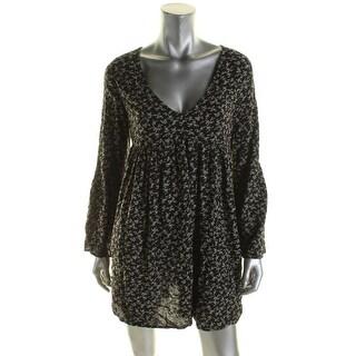 Denim & Supply Ralph Lauren Womens Casual Dress V-Neck Floral