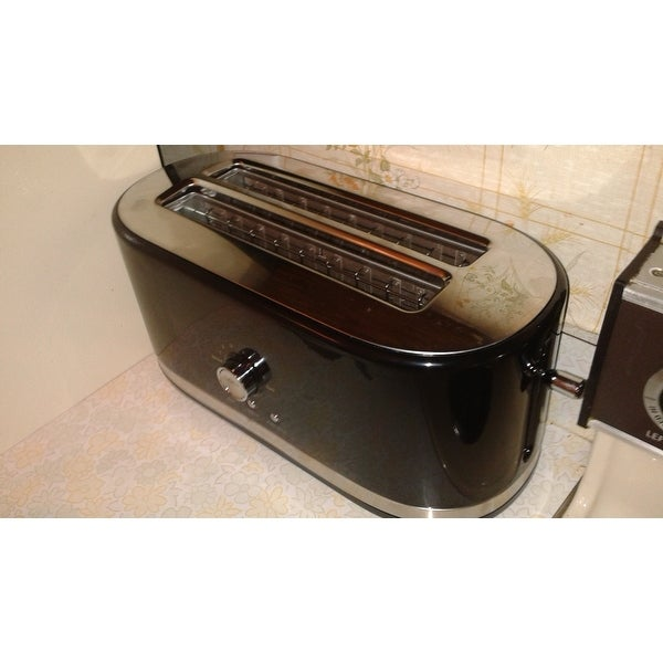 Top Product Reviews For Kitchenaid Kmt4116 4 Slice Long Slot Toaster