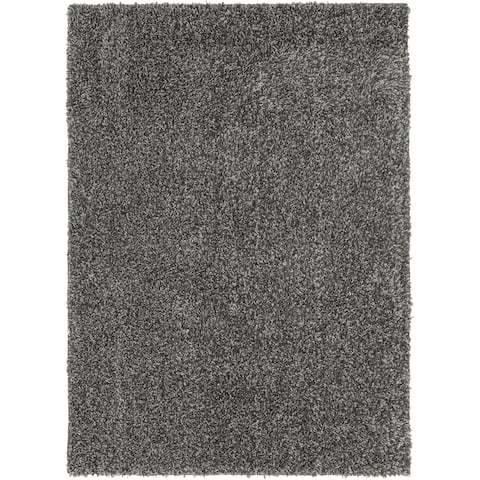 Havannah Dark Grey Tufted Shag Rug