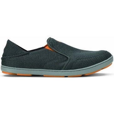 Olukai Nohea Mesh Shoe - Men's Dark Shadow/Dark Shadow 8