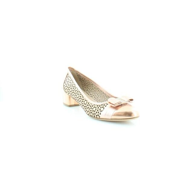 Salvatore Ferragamo Susette Women's Heels ORO Loto - 10