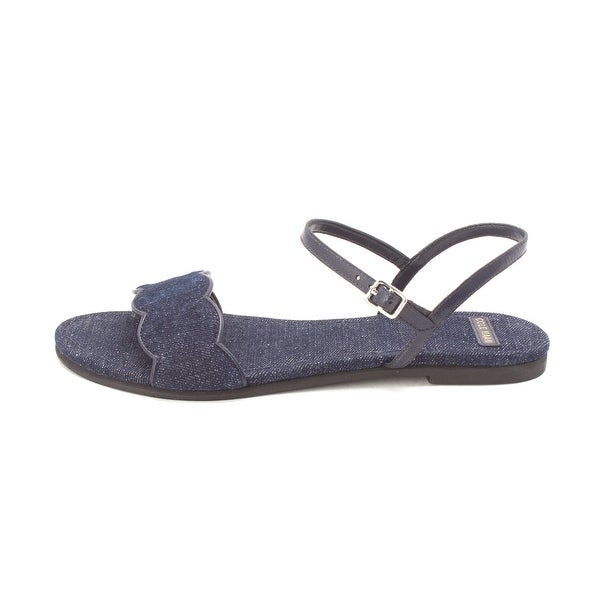 Cole Haan Womens Eulasam Open Toe Casual Ankle Strap Sandals - 6