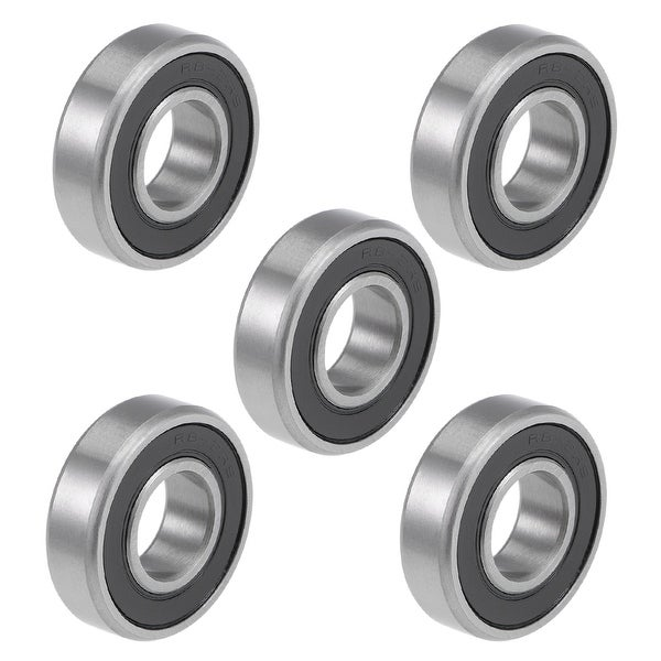 R8RS Deep Groove Ball Bearings Z2 1/2 x 1-1/8 x 5/16inch Double Sealed 5pcs
