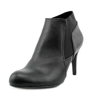Madden Girl Ladie Women Round Toe Leather Black Bootie