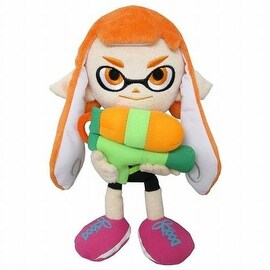 Nintendo 10-inch Splatoon Female Inkling Plush Toy
