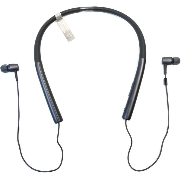 Sony h.ear in MDR-EX750BT Earset - Stereo - Charcoal Black - (Refurbished)