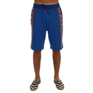 Dolce & Gabbana Dolce & Gabbana Blue Cotton Above Knees Casual Shorts