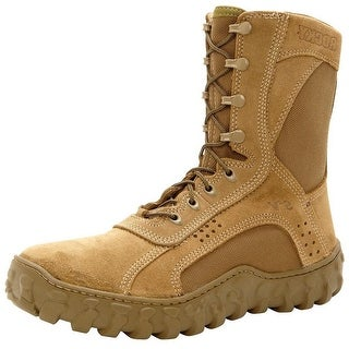 Rocky Tactical Boots Mens S2V Steel Toe Coyote Brown FQ0006104