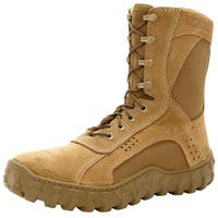 Rocky Tactical Boots Mens S2V Steel Toe Coyote Brown