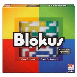 Mattel Games BJV44 Blokus Refresh Strategy Board Game, Age 6 & Up