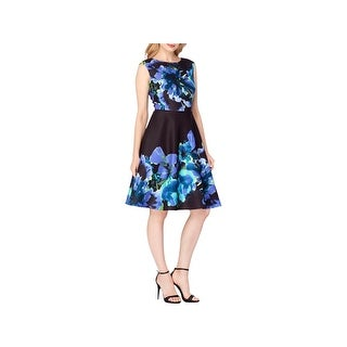 Tahari ASL Womens Wear to Work Dress Jacquard Floral Print (2 options available)
