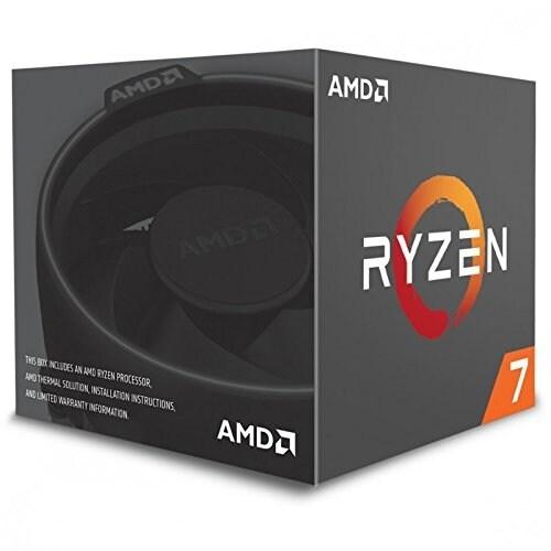 Amd Cpu Yd1700bbaebox Desktop Ryzen 7 1700 Am4 65W With Amd Wraith Spire Cooler
