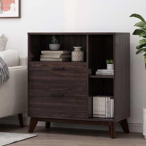 Rattler Indoor 2 Drawer Cabinet by Christopher Knight Home