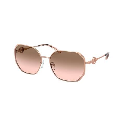 Michael Kors MK1074B 110811 57 Rose Gold Woman Irregular Sunglasses