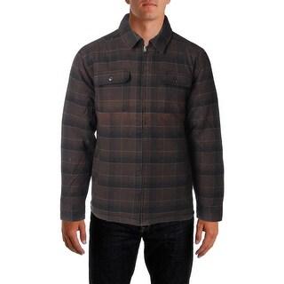 Field & Stream Mens Jacket Fleece Reversible