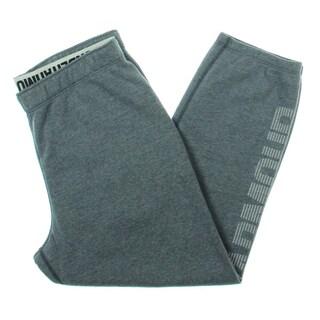 Under Armour Womens Favorite Capri Pants Fleece Logo - M