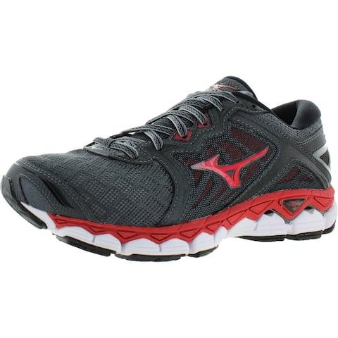 Mizuno Men's Wave Sky Breathable Mesh Athletics Running Sneaker Shoes