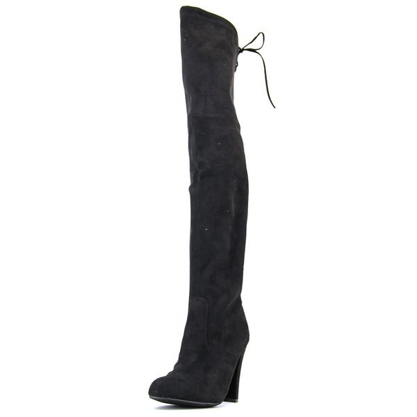 e3298a77156f12 Shop Steve Madden Gorgeous Pointed Toe Synthetic Over the Knee Boot ...