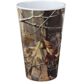 """Set of 6 Vibrantly Colored Real Tree Camo Printed Kitchen Essential Tumblers 5.4"""""""