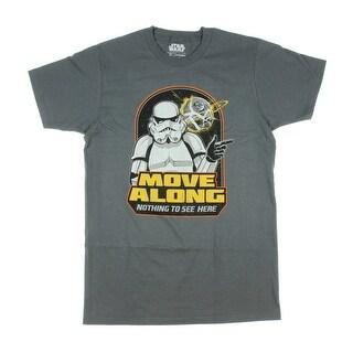 Star Wars Move Along Mens Crewneck Tee