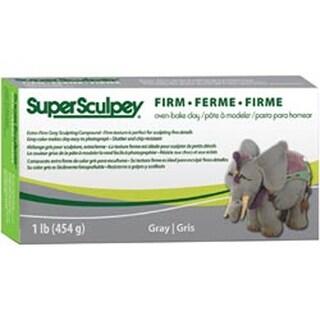 Gray - Super Sculpey Firm Clay 1Lb