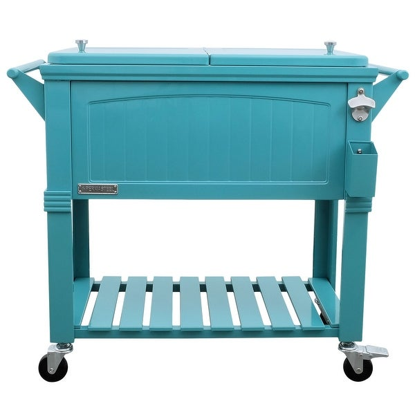 Permasteel 80 Qt. Furniture Style Patio Cooler. Opens flyout.