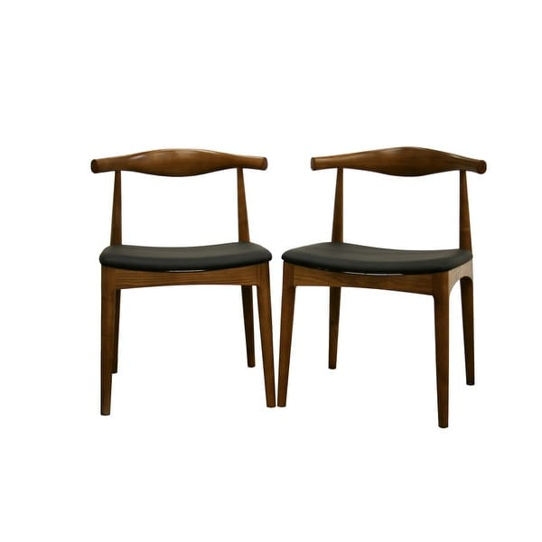 Sonore Solid Wood Mid-Century Style Accent Chair Dining Chair - 2pcs