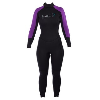 Ivation Women's 2.5mm Premium Neoprene Full Body Wetsuit