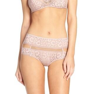 Calvin Klein Womens Pink Tease High Waist Hipster Brief Underwear