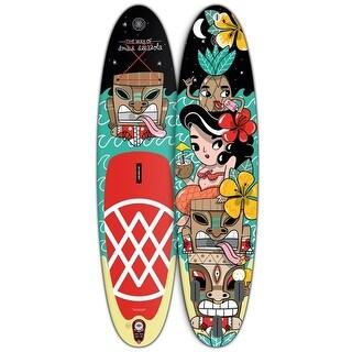 """AMAIA ARRAZOLA Paddle Board 10'6"""" Inflatable SUP"""