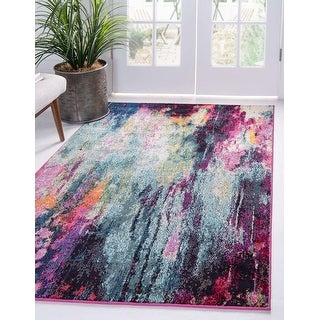 Link to Unique Loom Sunset Chromatic Area Rug Similar Items in Rugs