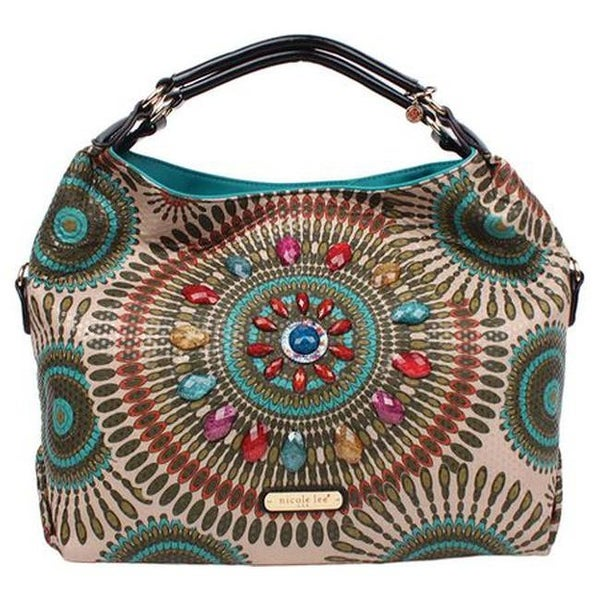 30d8a9a16876 Shop Nicole Lee Women s Elin Boho Chic Hobo Bag Olive - US Women s One Size  (Size None) - Free Shipping Today - Overstock.com - 20972159